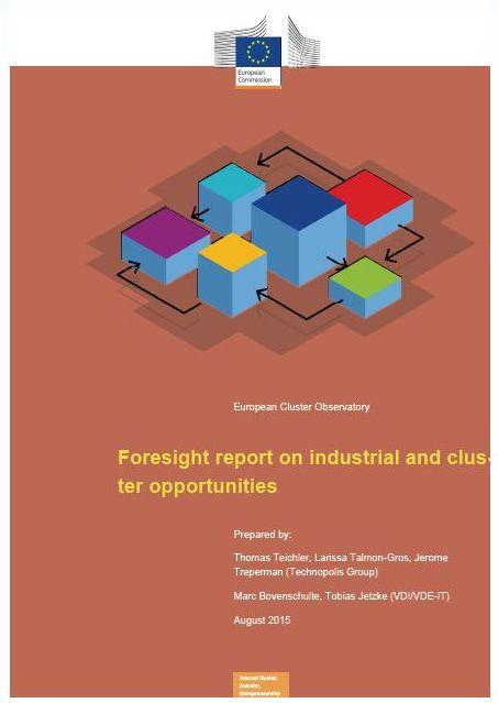 Poročilo o predvidevanjih o priložnostih za industrijo in industrijske grozde