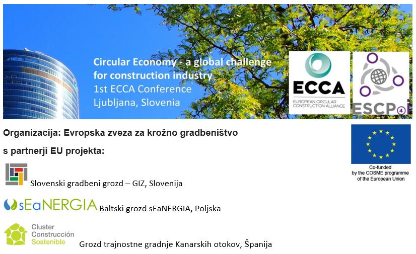 Prva konferenca Evropske zveze za krožno gradbeništvo