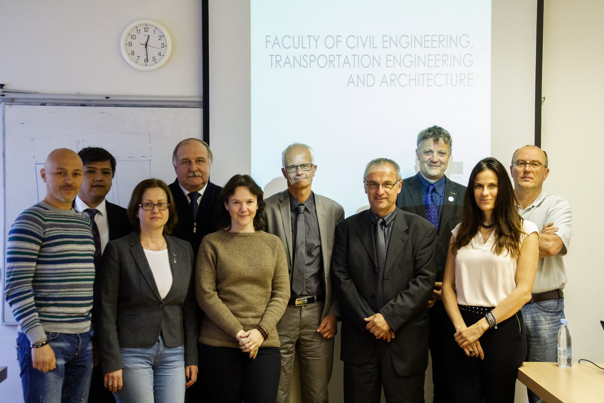 Obisk Fakultete za gradbeništvo, prometno inženirstvo in arhitekturo Univerze v Mariboru