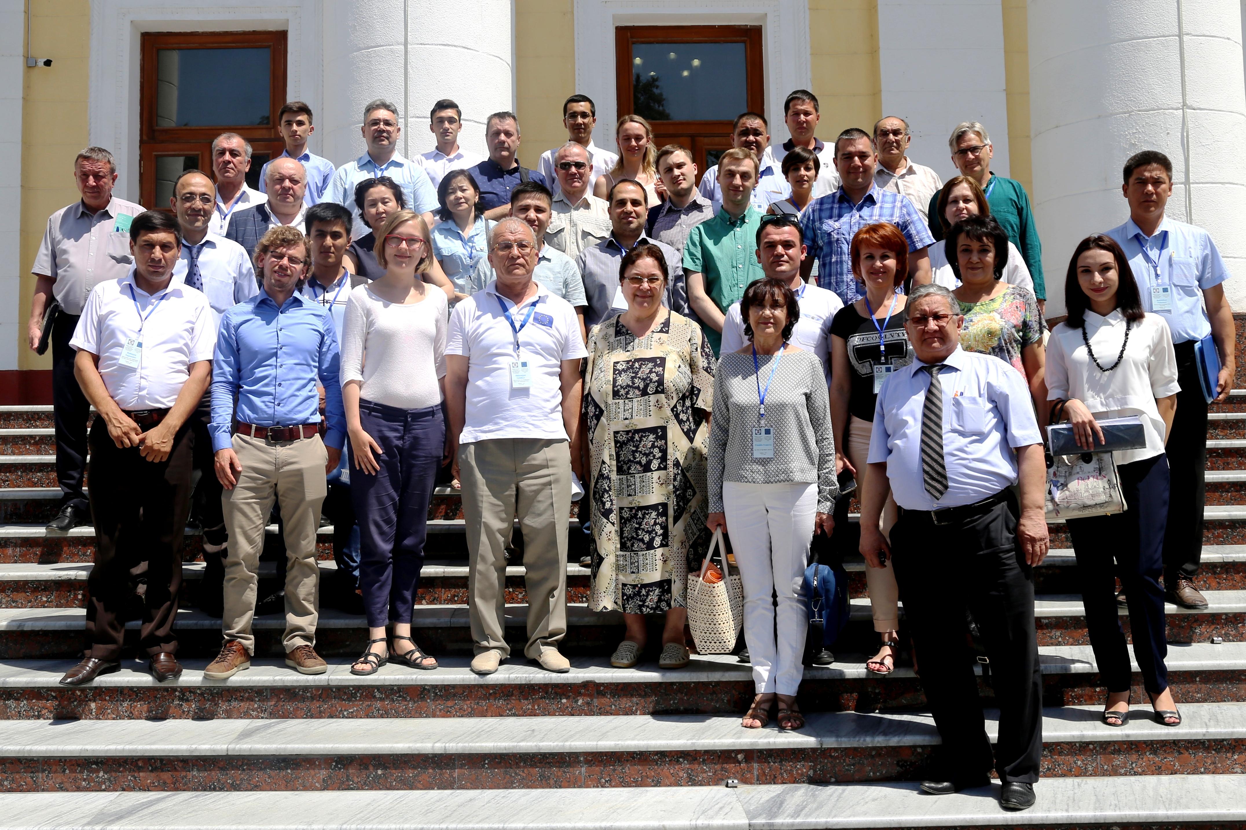 delavnica projekta GREB v Taškentu, Uzbekistan
