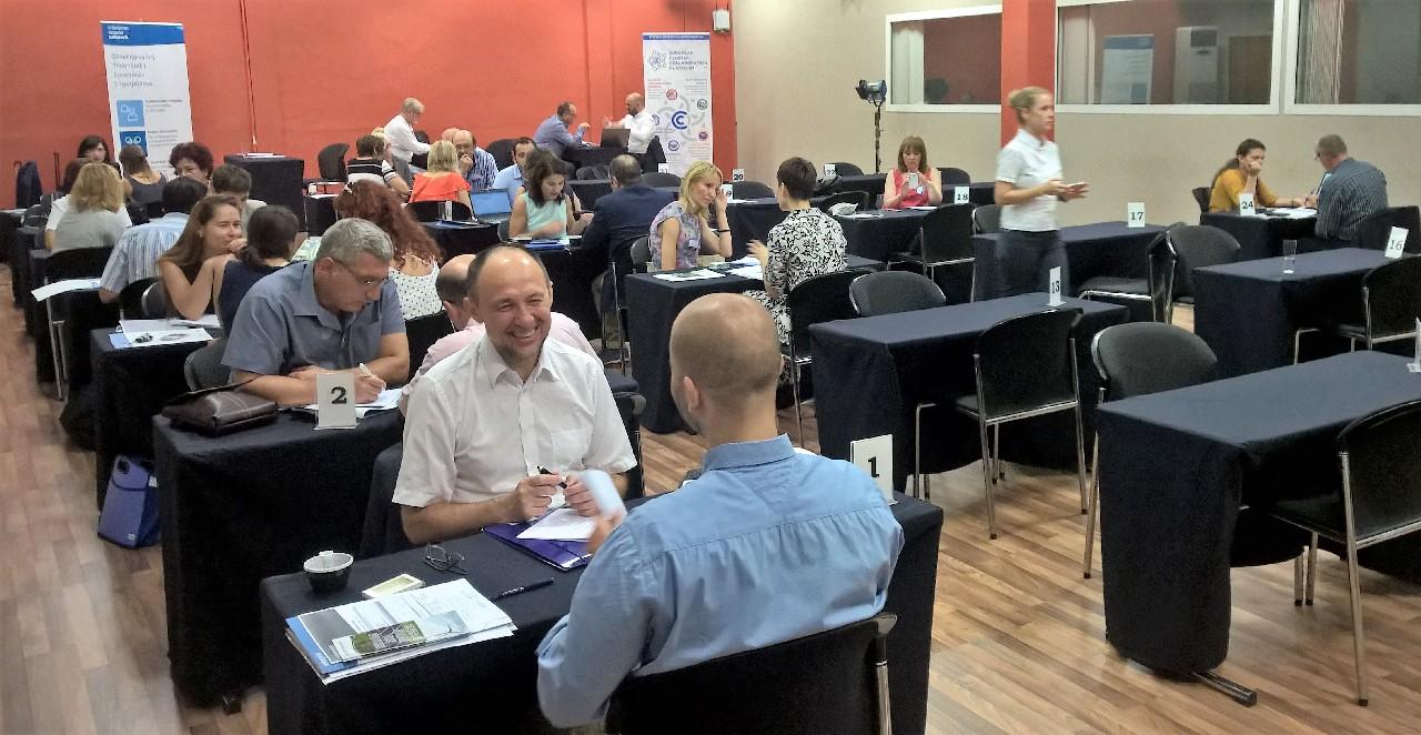 Slovenski gradbeni grozd na srečanju industrijskih grozdov v Solunu