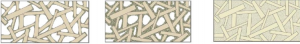 konoplja-beton-struktura različnih mešanic