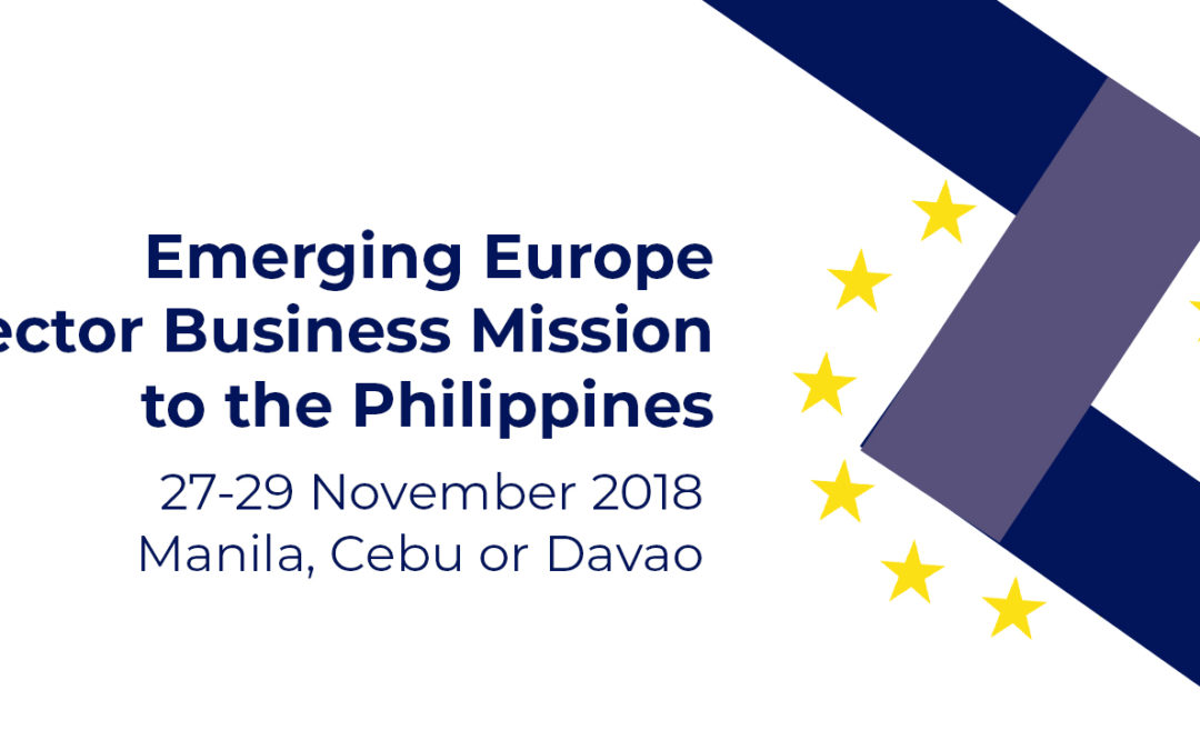 Last call to register for joint, representative business mission  to Philippines, 27-29 November 2018